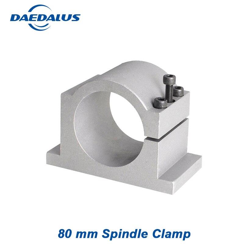 Moteur de broche appareil 80mm Clamp Support Pour CNC moteur de broche outil de Travail Du Bois