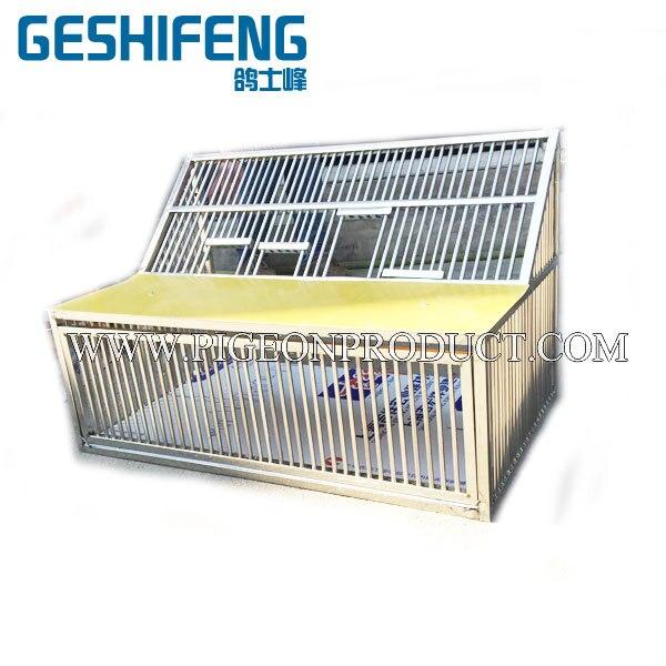 2 pc livraison gratuite 120 cm cage à sauter pliable cage en métal cage volante