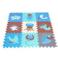 18pcs Interlocking Puzzle Mat Baby EVA Foam Play Mat Split Joint Exercise Tiles Floor Carpet Rug Toys for Children Toddler Kids