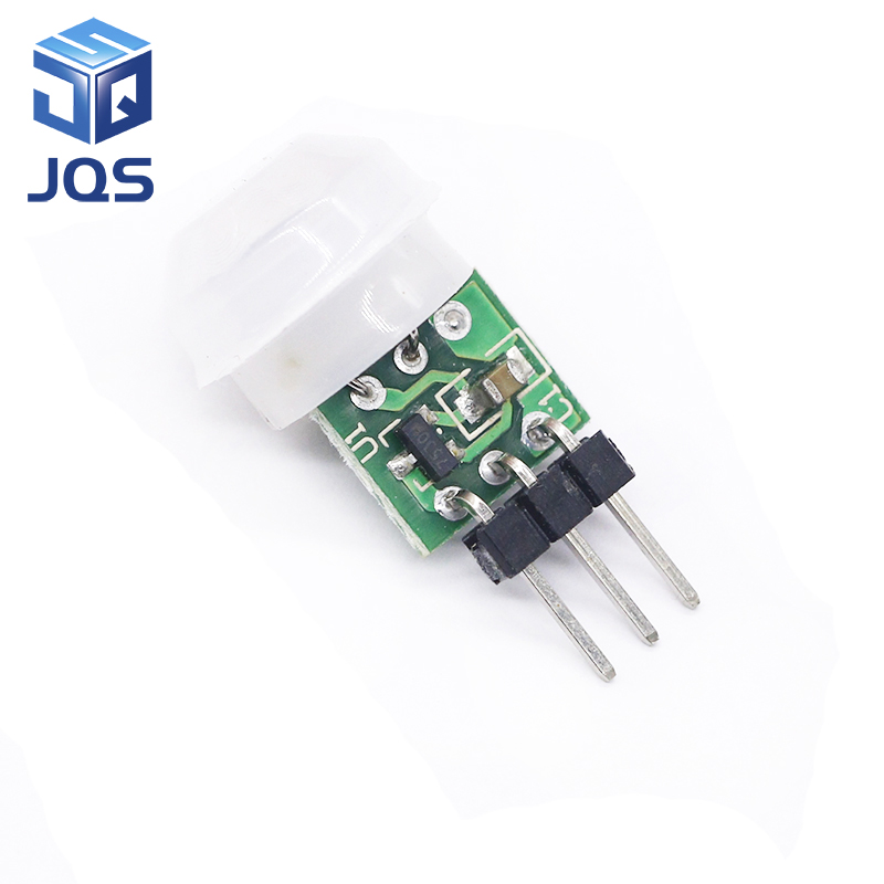 1pcs Mini IR Pyroelectric Infrared PIR Motion Human Sensor Automatic Detector Module AM312 Sensor DC 2.7 To 12V Module