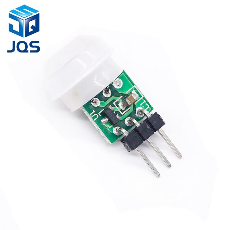 1pcs Mini IR Pyroelectric Infrared PIR Motion Human Sensor Automatic Detector Module AM312 Sensor DC 2.7 To 12V Module
