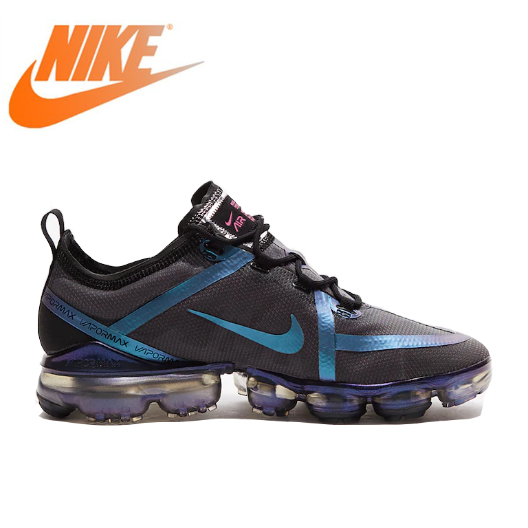 Original authentique NIKE Air VaporMax hommes chaussures de course en plein Air Sneaker respirant athlétique Designer 2019 nouveauté AR6631-001