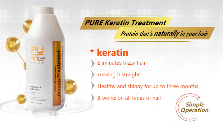 11.11 Brazilian Keratin Hair Treatment 300ml Formalin 5% Straightener & Treatment for Damaged Hair Hair Care Free Shipping 2