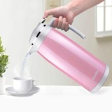Edelstahl Thermosflasche 1.9L Vakuumisolierung Wasserkocher Kaffee Teekanne Wärmflasche Isolierung Topf Chinesische Isolierung Tasse