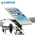 LOCLE Bicycle Handlebar Black Mountain Bikes BMX Bicycle Phone Holder Support Case Motorcycle For Cell Phone About 70g