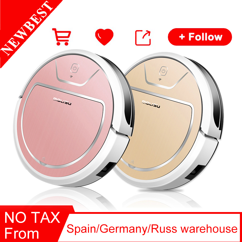 ROBOT VACUUM CLEANER Dry and wet 2000 Pa suction Intelligent navigation APP control 350 ML Electronic