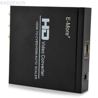 HDMI TO HDMI/CVBS AUTO SCALER Support NTSC/ PAL HD Video Converter for TV,VHS, VCR,DVD recorders support HDCP