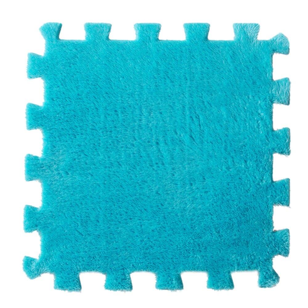 6 Stck EVA Eco Puzzle Teppich Mosaik Fliesen Wohnzimmer Kissen Nacht Babyspielmatte Boden Puzzlematten