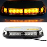 CARCHET Car Vehicle Roof Light 24 LED Emergency Warning Strobe Light Lamp Magnetic Base Roof Lights LED Strobe Light Car Styling