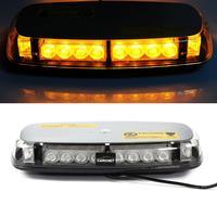 Car Vehicle Roof Top Light 24 LED Emergency Warning Strobe Light Lamp Magnetic Base 24 LED