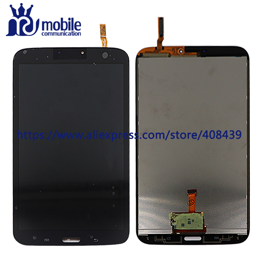 for Samsung Galaxy Tab 4 SM-T331 T331 Full LCD Display Panel Touch Screen Digitizer Sensor Glass Lens Assembly Replacement original 14 touch screen digitizer glass sensor lens panel replacement parts for lenovo flex 2 14 20404 20432 flex 2 14d 20376