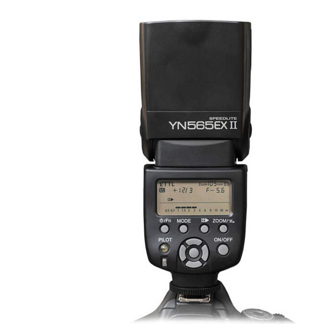 Yongnuo YN565EX II Speedlite Speedlight Flash Light T5/T5i/T3/T3i/SL1 EF-S  for Canon EOS 5D 6D 5D3 5D2 7D 60D 600D 70D 700D 400D