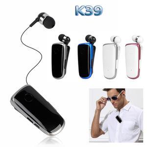 Image 2 - K39 Mini Portable oreillettes sans fil Bluetooth 4.1 écouteur dans loreille casque vibrant alerte usure Clip mains libres écouteurs pour téléphone