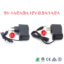Power Adapter DC 12V 5V 1A 2A 3A 5 V 12 V Adaptor Power Switching Charger Supply EU US Plug 220V To 12V For Led Strip Light Lamp цена