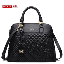 ZOOLER 2016 famous designer brand women Genuine leather handbags high quality bolsos bolsas fashion  femme de marque#BC-8155