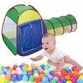 1 Шт. Складной Кэбби-Трубка-Трубка-Типи 3 шт. всплывающих Играть Палатки Дети Туннель Дети подарки Открытый Игрушки Палатки