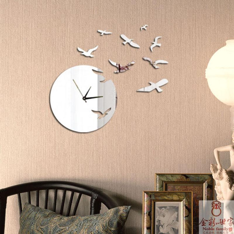 aliexpresscom buy eco friendly acrylic modern home decoration items for living room hot sale new and fashion diy wall mirror clock from reliable clock - Decorative Items For Home