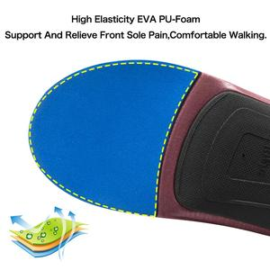 Image 5 - 3ANGNI Orthotic Arch Support Shoe Insert Orthopedic Mild/Moderate Flat Feet insole Heel Pain Plantar Fasciitis Men Woman
