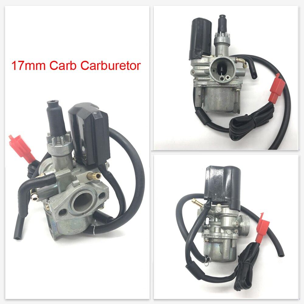 Carburetor(17mm)Carb PZ17 For Honda DIO 50cc 24 30 Tact 50 SP ZX34 35 SYM Kymco