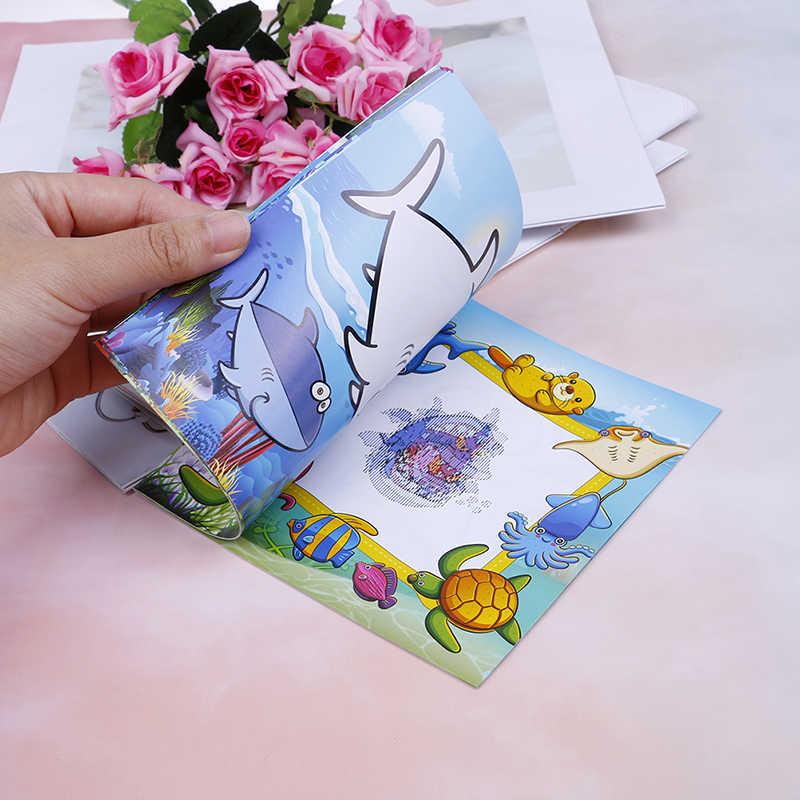 22 Page Diy Children S Puzzle Magic Coloring Book Cute Dinosaur
