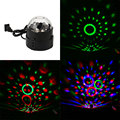Hot Sale Mini RGB 5W LED Crystal Magic Ball Stage Effect Lighting Lamp Bulb Party Disco Club DJ Light Show Lumiere Drop Shipping