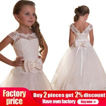 5d826ad00 2019 niñas Primera Comunión vestidos de niña de las flores vestidos para  bodas