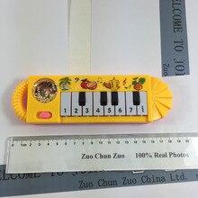 Kleine Schöne muster gelb klavier Studie musik NEW musical spielzeug musikinstrument spielzeug für kinder baby-pädagogische W023