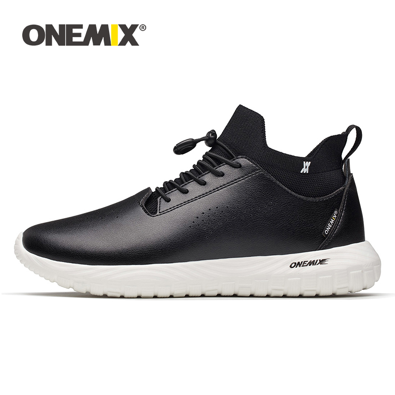 ONEMIX 2019 men leather shoes 3 in 1 set shoes top grade outdoor women sneakers soft micro fabric light man working sneakersONEMIX 2019 men leather shoes 3 in 1 set shoes top grade outdoor women sneakers soft micro fabric light man working sneakers