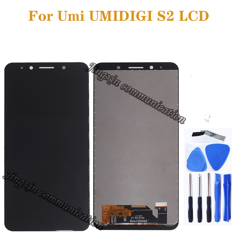 "6.0"" for UMI UMIDIGI S2 LCD display + touch screen digital converter replacement for UMI Umidigi S2 LCD monitor Repair kit-in Mobile Phone LCD Screens from Cellphones & Telecommunications"