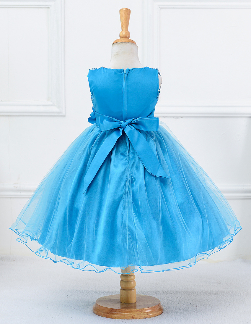 Baby Kids Princess Christmas Dresses For Girl Party Costume ...