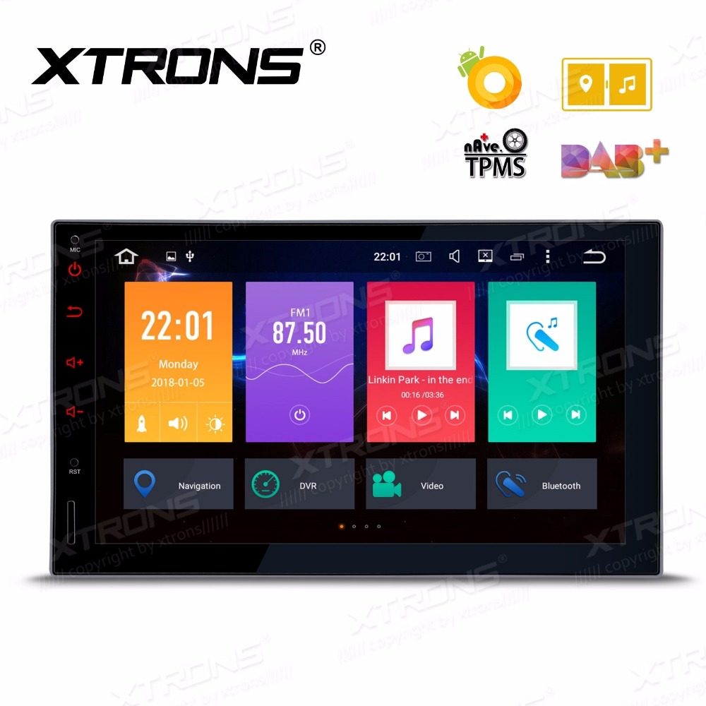 7 Octa-Core Android 8.0 Oreo OS Double Din Car Multimedia Two Din Car Navigation GPS 2 Din Car Radio with 4GB RAM 32GB ROM 2 din