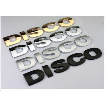 3D Vehicle DISCO-VERY  Metal Sign Emblem Badge Sticker