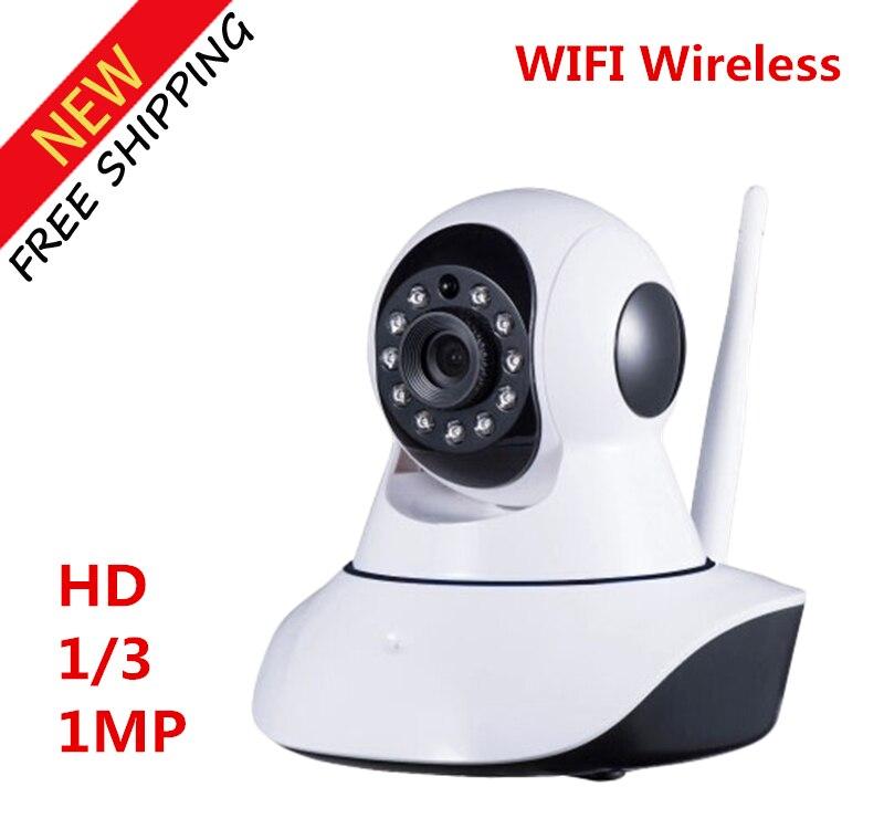 ФОТО IPC-T8610-Q5 HD 1/3 1MP IP wireless camera Indoor wifi Wireless IP Camera Free Shipping