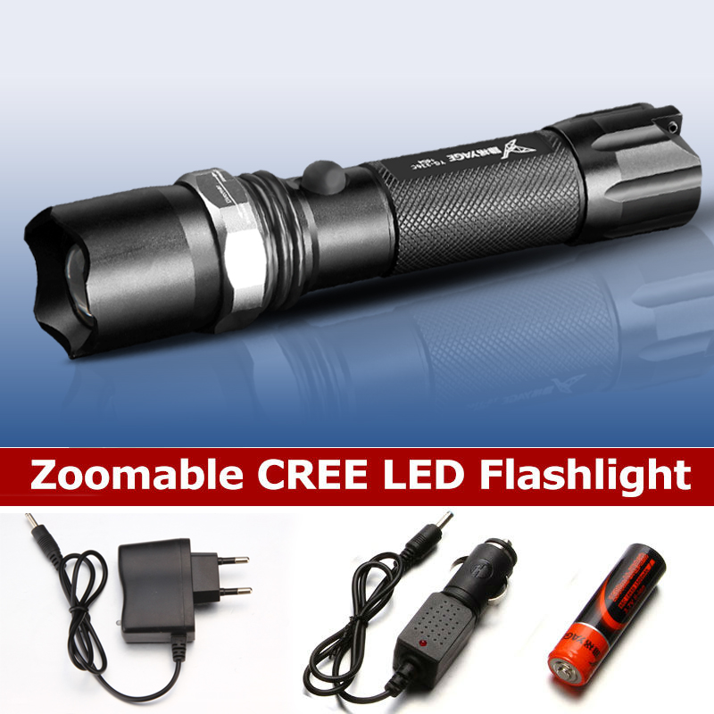 YAGE 336C Torcia ricaricabile 18650 cree Torcia a LED Torcia Lanterna Torcia Lampe Lanterna lampe de poche Zoomable Flash