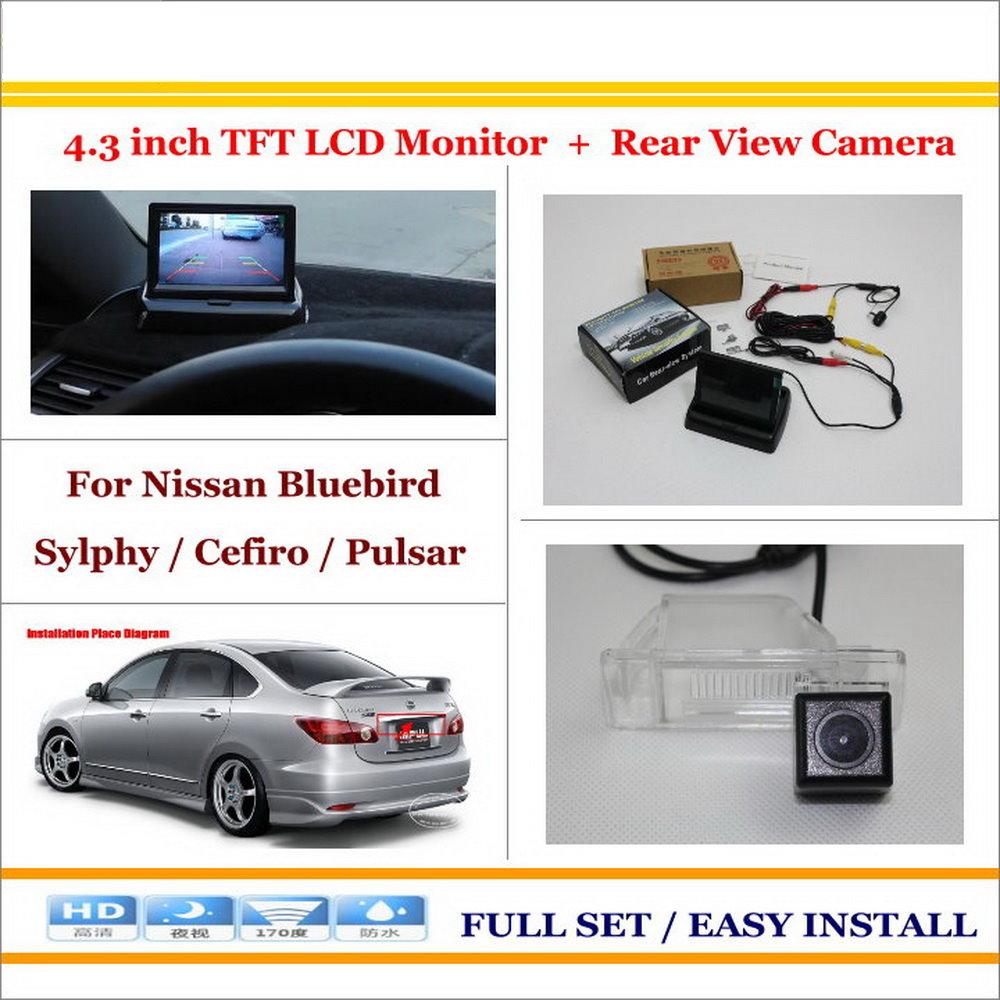Liislee For Nissan Bluebird Sylphy Cefiro Pulsar 43 Monitor Reversing Camera Tft Lcd Wiring Diagram Hd Rear View Reverse Ntsc Pal Rca Connector
