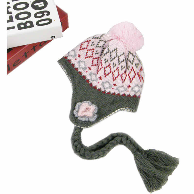 ae8074736 Detail Feedback Questions about Girls Hats Handmade Flower Kids Baby ...