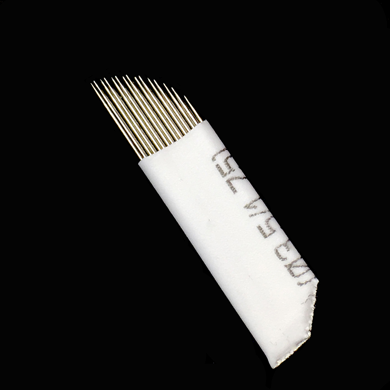 30 Double Row 15 Microblading Needle for Permanent Makeup Eyebrow Stainless Steel Tattoo Needles for Manual Pen Blades 15 Pins30 Double Row 15 Microblading Needle for Permanent Makeup Eyebrow Stainless Steel Tattoo Needles for Manual Pen Blades 15 Pins
