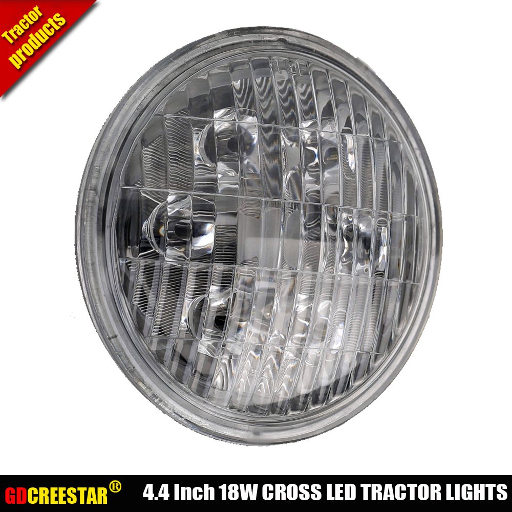 Agricultural Led Lights 12v 24v Industrial For John Deere 5 4 Ford Wiring Tractor Case New Holland Round X 2pcs Free Shipping In Light Bar Work