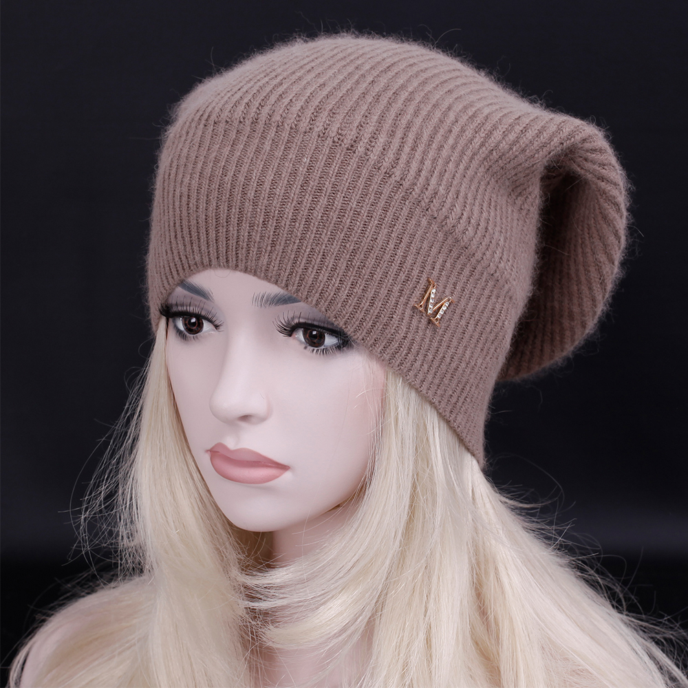 2016 Top quality New brand fashion female casual Hat Winter Warm Beanie Caps warm Skullies hats for women bonnet Warm snow cap