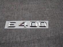 ABS Plastic Car Trunk Rear Letters Badge Emblem Decal Sticker for Mercedes Benz E Class E400 abs plastic car trunk rear letters badge emblem decal sticker for mercedes benz s class s63