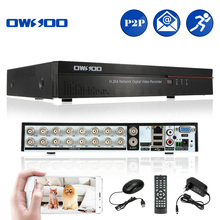 OWSOO 16CH DVR Digital Video Recorder 16 Channel H.264 Home CCTV Security DVR HD/VGA/BNC Output 2CH Audio Input Phone Control