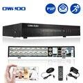 OWSOO 16CH DVR Grabador de Vídeo Digital de 16 Canales H.264 DVR de la Seguridad Casera HD/VGA/BNC de Salida, 2CH Entrada de Audio Control Del Teléfono