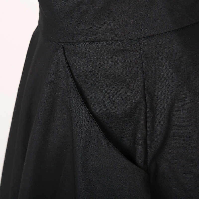 ba49b419bf8f ... swing dance party girl skirts full circle black bohemian cotton xxxL  plus size european uk design