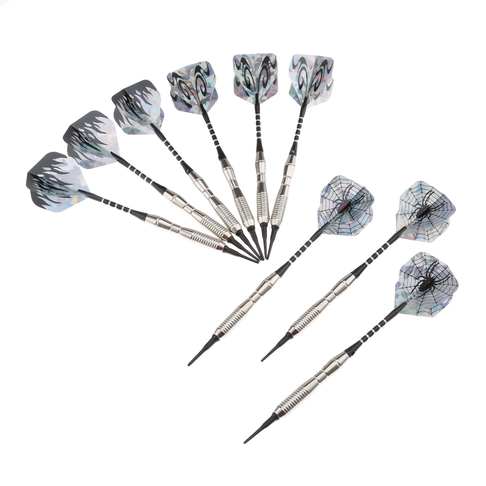 Aliexpress Buy 3 Sets 9pcs 18g Soft Tip Darts Dart For Electronic Dartboard With Steel