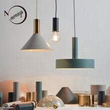 Лофт скандинавский подвесной светильник E27 светодиодный Современный Креативный подвесной светильник дизайн самостоятельно для спальни гостиной ресторана офиса кафе