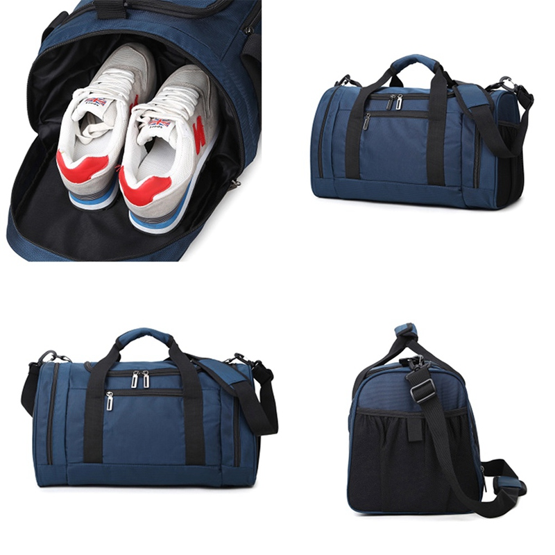 ec94d605a3d2 2018 new multi use portable shoulder sports bag gym backpack separated  shoes storage fitness bags men ...