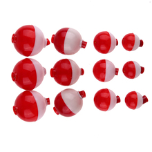 12pcs/set  Fishing Floats Set Assortment Clips Snap-On Bobbers Plastic 3.6g-11.4g Sea Fish Float Pesca Fishing Tackle Accessory