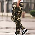 Hot Sale! High Quality New Arrival Men's Camouflage Pants Loose Trousers Men Cotton Casual Fashion Trousers  Plus Size