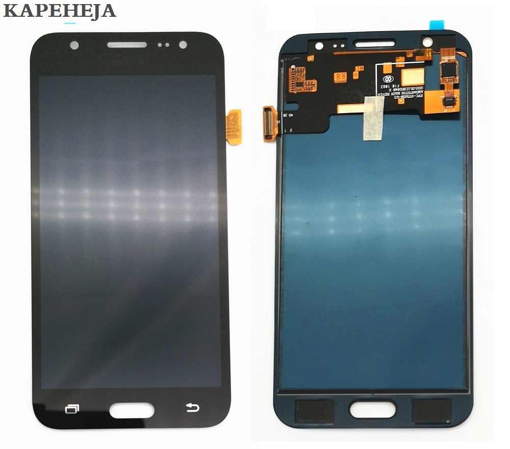 Parlaklığı ayarlayabilir miyim samsung LCD Galaxy J5 2015 J500 J500F J500FN J500M J500H lcd ekran dokunmatik ekranlı sayısallaştırıcı grup