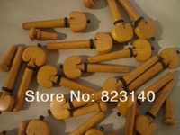 12 PCS BOXWOOD Violin PEGS AND 3 END PIN ALL 4/4, VIOLIN ACCESSORIES